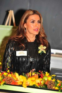 They keynote speaker, Nazanin Afshin-Jam