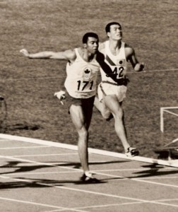 Harry Jerome bronze medal at the 1964 Tokyo Olympics