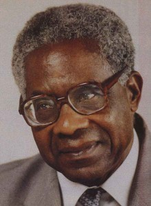 Aime Cesaire African-Martinican Francophone poet, author and politician.