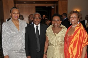 Honorable Evelyn Greaves, High Commissioner of Barbados in Canada Second Left Photo By KMG