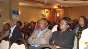 Participant of Jamaican Minister of Tourism workshop in Hilton Metrotown