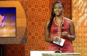 Isha Sesay MultiChoice African Journalist Awards 2010
