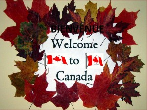 Bienvenue /Welcome to CANADA by TAN