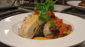 Sable Fish steam Rice  by Chef Honoré Gbedze