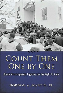 """Cover for """"Count Them One By One,"""" by Gordon A. Martin, Jr. (Cover Image from University Press of Mississippi)"""