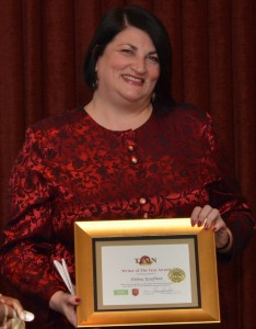 Helena Kaufman TAN Writer of The Year.