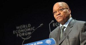 President Jacob Zuma  of South Africa : Africa is a new frontier for trade and business development