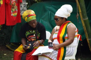 Sistrens from the Zimbabwe rasta community The Harare International Festival of the Arts