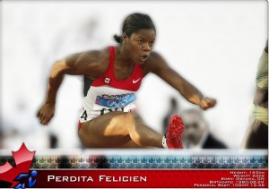 Jerome Classic meet record threatened by Perdita Felicien