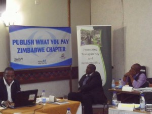 ZELA Executive Director Mutuso Dhliwayo at the launch Photo by Wallace Mawire