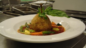 Grenade of Artichoke by Chef Honore Gbedze