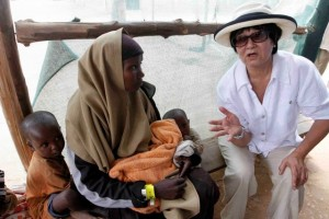 Minister Oda recent visit to Africa on Humanitarian grounds Dadaab Refugee Camps