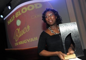 Author Ese Edugyan's - Half-Blood Blues